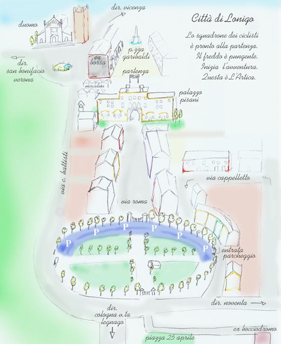 Cartina Lonigo